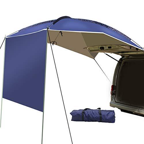 UBOWAY Markise Sonnenschutz - Wasserdichte Autokondach Wohnmobil Anhänger Zelt Dach Dach Top für Strand, SUV, MPV, Schrägheck, Minivan, Limousine, Camping, Outdoor -