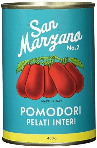 Il pomodoro più buono Geschälte Tomaten aus San Marzano Vintage, Ganze, geschälte Tomaten, 4er Pack (4 x 400 g)