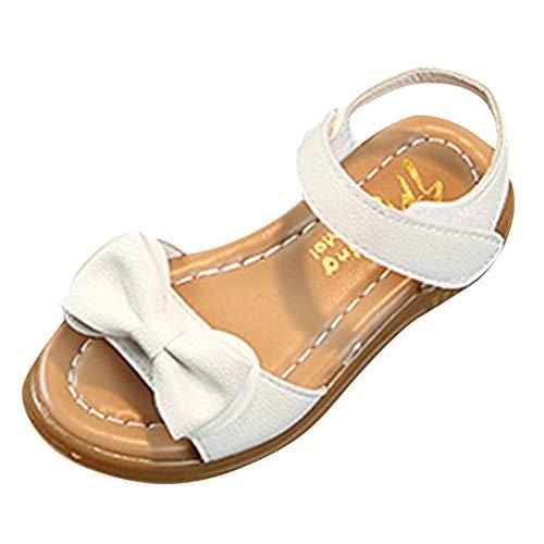 Manadlian Enfants Filles Sandales D'Été Bowknot Plat Chaussures de Princesse Chaussons de Enfants Sandales