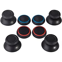 Analogico Joystick Silicone e Thumbstick Cappucci Cover per Controller PS4, 8 Pezzi