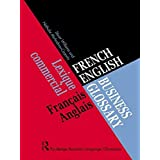 French/English Business Glossary (Business Language Glossaries) by Nathalie McAndrew Cazorla (1997-05-08)