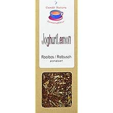 Candé Natura Teemanufaktur Joghurt Lemon Rooibosteemischung, aromatisiert, 5er Pack (5 x 75 g)