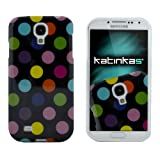 Katinkas Soft Cover für Samsung Galaxy S4 Dotty schwarz/multi