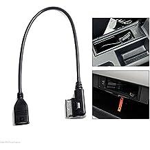 Audi VW interfaz de música MDI MMI AMI a USB Cable de sincronización de datos adaptador de carga