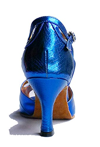 TDA ,  Damen Tanzschuhe Blau