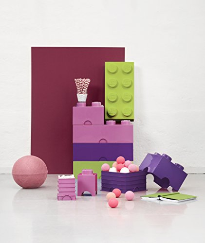 LEGO Storage - Caja de almacenaje 4, color morado (Room Copenhagen 40030644)