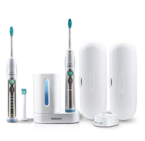 Philips Sonicare FlexCare HX6992/blau 34Bürste Sonore chrom Elektrische Zahnbürste weiß