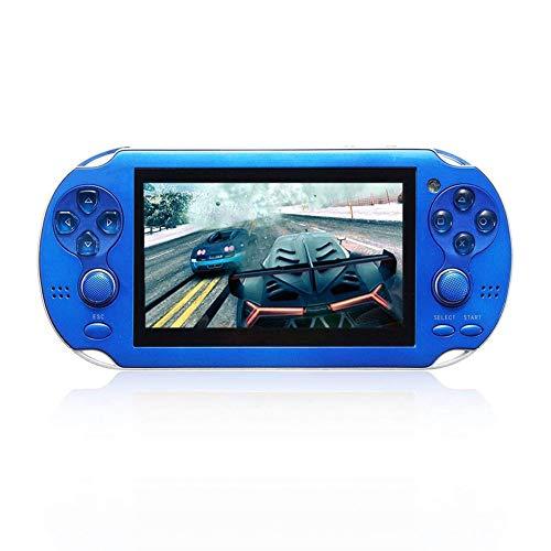 SU Kinder Erwachsene Spielmaschine Spielzeug PSP HD Large Screen NES/GBA Griff,Blue