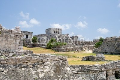 druck-shop24 Wunschmotiv: mayan ruins #3115863 - Bild auf Alu-Dibond - 3:2-60 x 40 cm/40 x 60 cm