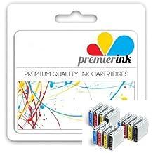 Premier Ink Multipack de cartuchos de 12 cartuchos de tinta Brother Compatible Xl Lc1000 Lc 1000 Lc970 Lc 970 (3x negro y EA. 3X cian Magenta y amarillo) LC1000Bk/LC970BK + LC1000Y/LC970Y + LC1000C/LC970C + LC1000M/LC970M para Brother DCP - 130C/DCP - 135C/DCP - 150C/DCP - 155C/DCP - 330C/DCP - 350C/DCP - 375C/DCP-540Cn/Dcp750Cw/DCP-770Cw/DCP-560Cn/Brother MFC - 230C/MFC - 235C/MFC-240Cn/MFC - 240C/MFC - 260C/MFC-440Cn/MFC-465Cn/MFC-660Cn/MFC-665Cw/MFC-680Cn/MFC-685Cw/MFC-345Cw