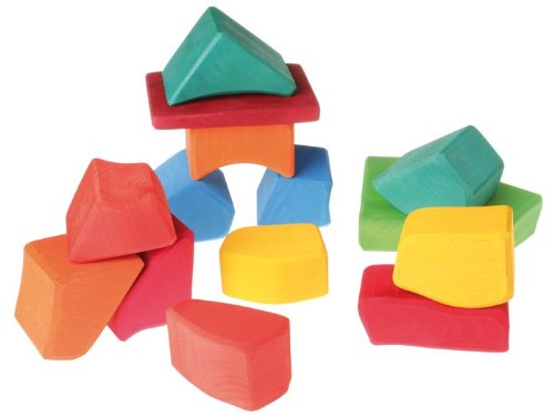 Los juguetes de los hermanos Grimm grandes bloques de color