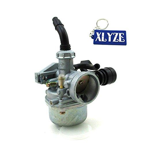 xlyze PZ19Carb 19mm Vergaser Würgegriff-Hebel für 50cc 70cc 90cc 110cc Quad ATV Buggy Pit Dirt Monkey Bike