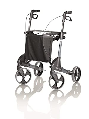 Topro Troja Classic Rollator - 4 Wheeled Walker (Choose Your Size)