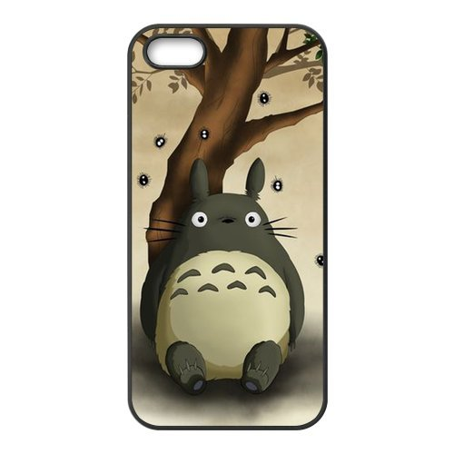 Galleria fotografica iPhone 5S case, custodia morbida in silicone per iPhone 5/5s-my vicino Totoro TPU cover posteriore per iPhone 5S Cover