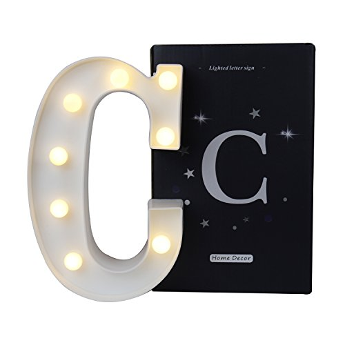 Vimlits Letters Alphabet Led Marquee Light Sign A Z Plastic