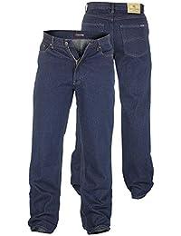 Rockford Jeans Mens Confort Grande Taille Qualité Jeans Indigo De Fit