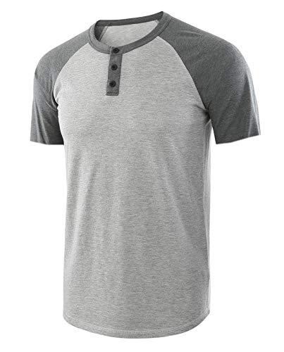 Einfarbiges Rundhals-T-Shirt für Herren mit V-AusschnittHerrent-Shirt 04 XXL (Spongebob Kleine Walking)