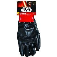 Guantes para niños de Kylo Ren, producto oficial de Star Wars, unitalla, de Rubie's