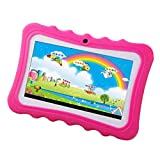 Leegoal Kids Tablet Case,Android 4.4 Early Teach 7 Inch Quad-core 8GB Wifi Front