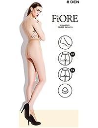 Fiore Taima 8den Klassische Damenstrumpfhose Glatte Strumpfhose