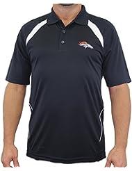 """Denver Broncos Majestic NFL """"Winners"""" Men's Short Sleeve Polo Shirt Chemise"""