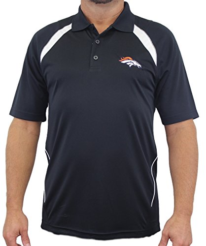 "Denver Broncos Majestic NFL ""Winners"" Men's Short Sleeve Polo Shirt"