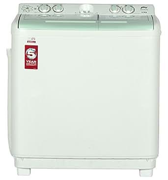 Godrej GWS 8502 PPL Semi-automatic Top-loading Washing Machine (8.5 Kg, Apple Green)