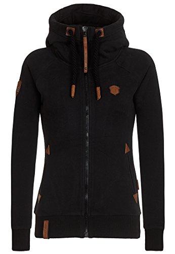 Naketano Female Zipped Jacket Blonder Engel Black, M