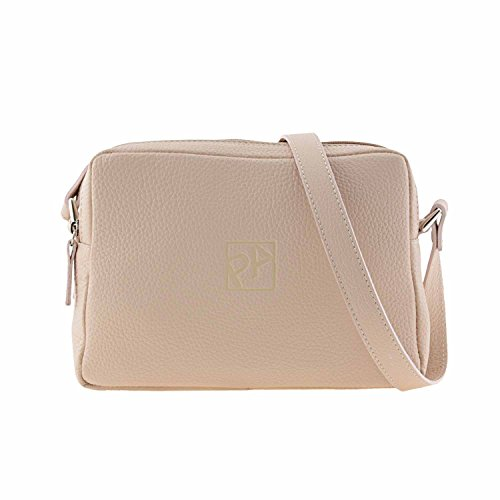 Similpelle due cremagliere Beige