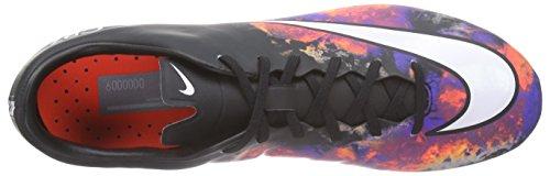Nike - Mercurial Veloce Ii Fg Cr7, Scarpe da calcio Uomo Nero (Schwarz (Black/White-Total Crimson 018))