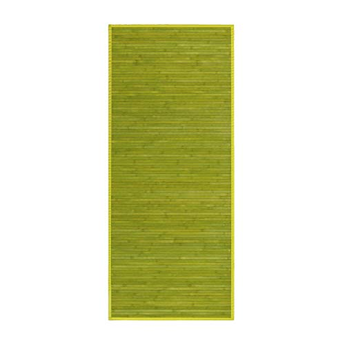 Alfombra Pasillera, Verde, de Bambú Natural 75 X 175cm Natur, 75x175 - Hogar y Más