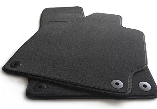Jeu de tapis de sol en velours 2 pièces pour Audi TT 2006(8J) Qualité d'origine