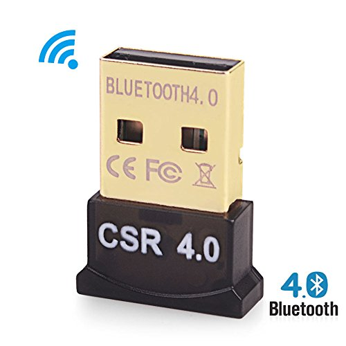 Bluetooth 4.0 USB Adapter Dongle Stick für PC, Notebook, Laptop. Kompatibel mit Windows XP, Vista, 7, 8, 10 und Linux