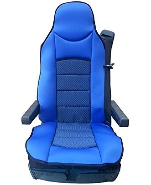 1x Sitzauflage Lkw Sitz Sitzbezug Bezug Sitzschoner Blau Neu Hochwertig Baby