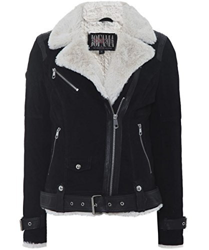 Leder jacke winter damen