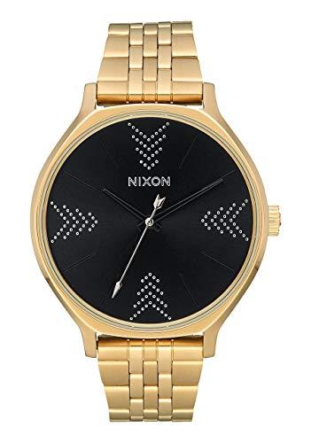Nixon Orologio Analogico Quarzo Donna con Cinturino in Acciaio Inox A1249-2879-00