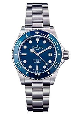 Davosa Automatic Ternos Professional Divers Watch Automatic Helium Valve Wrist Watch