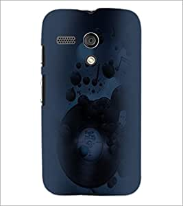 PrintDhaba Abstract Image D-4452 Back Case Cover for MOTOROLA MOTO G (Multi-Coloured)