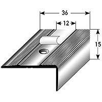 Winkelprofil Alu 250 x 2,5 x 1 cm Treppenwinkel Treppenkantenschutz Treppenkante