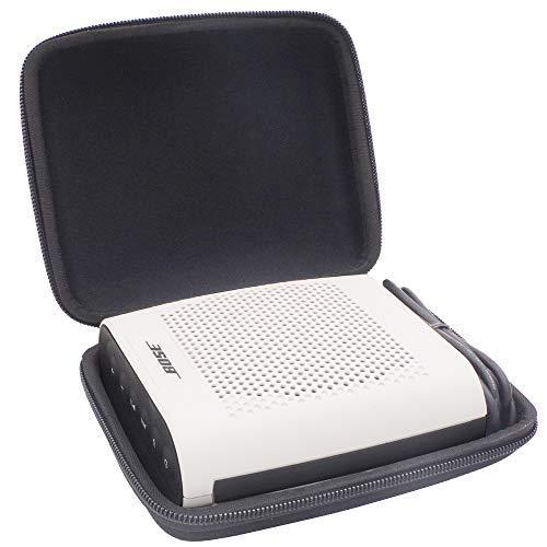Travel Semi-Hard Case Shockproof Tragetasche für Bose Soundlink Color II Wireless Bluetooth Lautsprecher. Passend für Plug & USB Kabel. Von Comecase Semi Hard Case