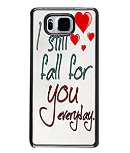 PrintVisa Designer Back Case Cover for Samsung Galaxy Alpha :: Samsung Galaxy Alpha S801 :: Samsung Galaxy Alpha G850F G850T G850M G850Fq G850Y G850A G850W G8508S :: Samsung Galaxy Alfa (Everyday True love)