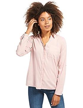 Tom Tailor für Frauen Shirt / Blouse schlichte Bluse mit Brusttasche