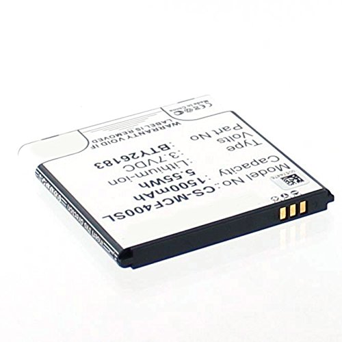 Akkuversum Ersatz Akku kompatibel mit MOBISTEL CYNUS F4 Ersatzakku Handy Smartphone
