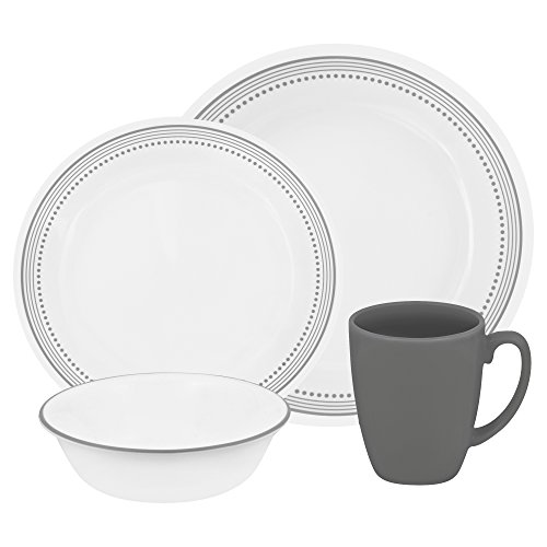 corelle-vitrelle-glass-mystic-chip-and-break-resistant-dinner-set-set-of-16-grey