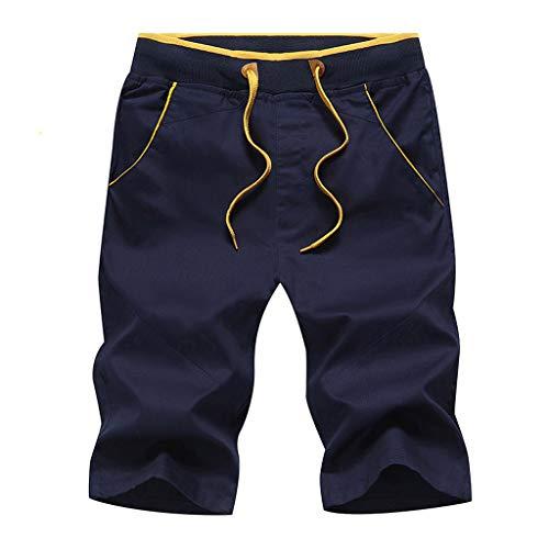 R-Cors Herren Shorts Kurze Hose Jogginghose Sport Shorts Freizeit Shorts Sweat-Shorts Bermudas -