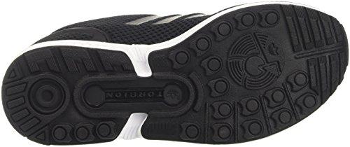 Zx nucleo Cestini Noir Nero Bianco Flusso Nero Bassi Adidas Adulte Mixte Interno Calzature fqwf0C