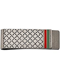 GUCCI money clip with diamond pattern silver YBF325948001
