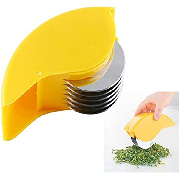 Kitchen Slicer Mincer Meat Herbs Potato Cutter Chopper Wheel Blades 8C