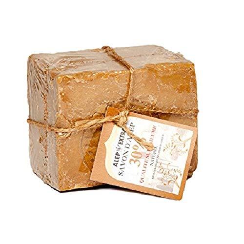 Lot de 3+ 1 GRATUIT savons d'Alep 30% Huile de Laurier 200 g - La Maison du Savon de Marseille