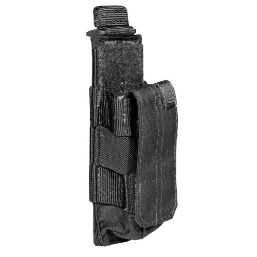 5.11 Tactical Single Pistol Bungee~Cover Pouch - Black - One Size
